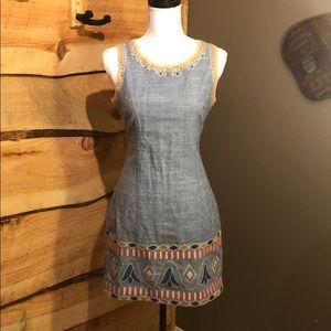 Linen dress by Esley